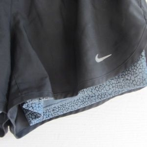 Nike Shorts - Nike Running Racer 2 in 1 Dri Fit Shorts